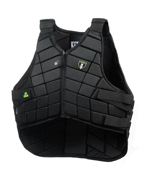 COMPETITOR Protective Horse Riding Vest - Black